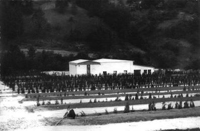 Novozgrajeno pokopališče v Podkraju