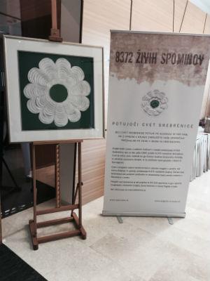 Potujoči cvet - spominski projekt ob 20. obletnici genocida v Srebrenici