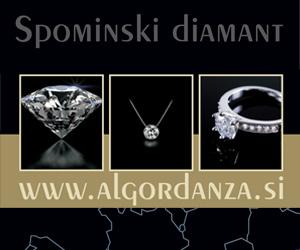 Spominski diamant Algordanza